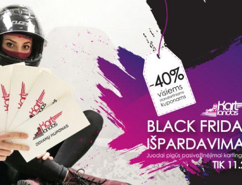 Black Friday išpardavimas! TIK lapkričio 29 dieną!