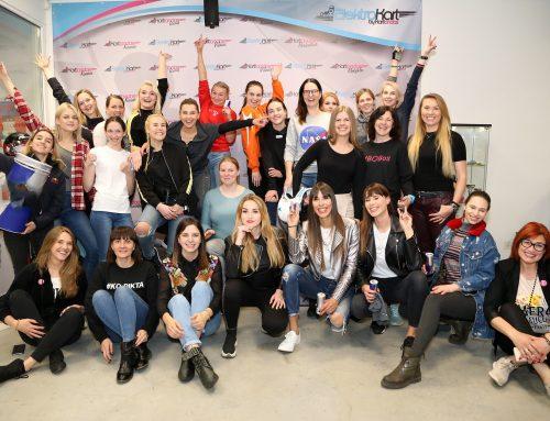 "Moterys priėmė iššūkį! ,,Women challenge"" Kartlande."
