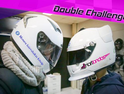 Double Challenge kartingo varžybos Kovo 26!